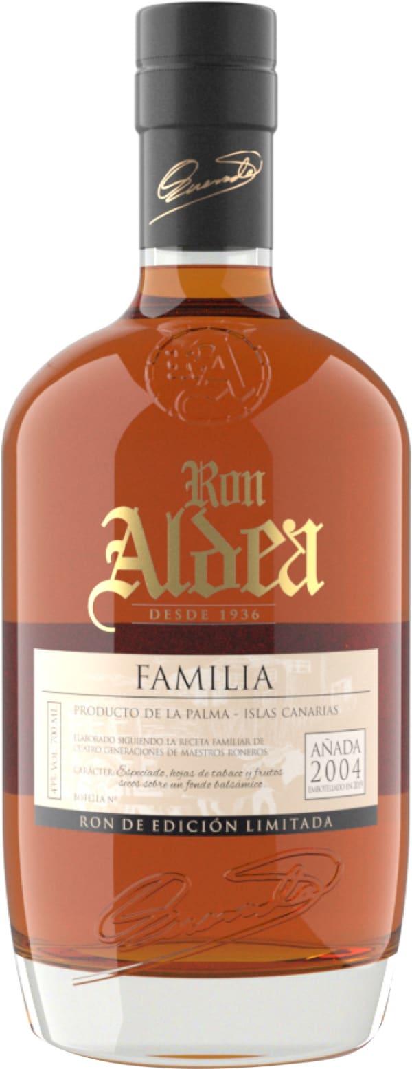 Ron Aldea Familia Añada Rhum 2004
