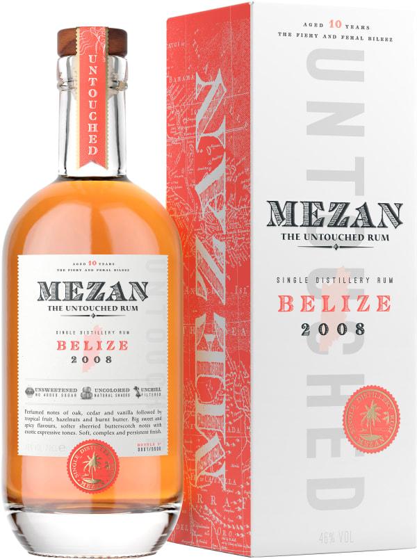 Mezan Unaltered Belize Rum 2008