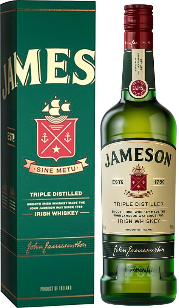 Jameson gift packaging