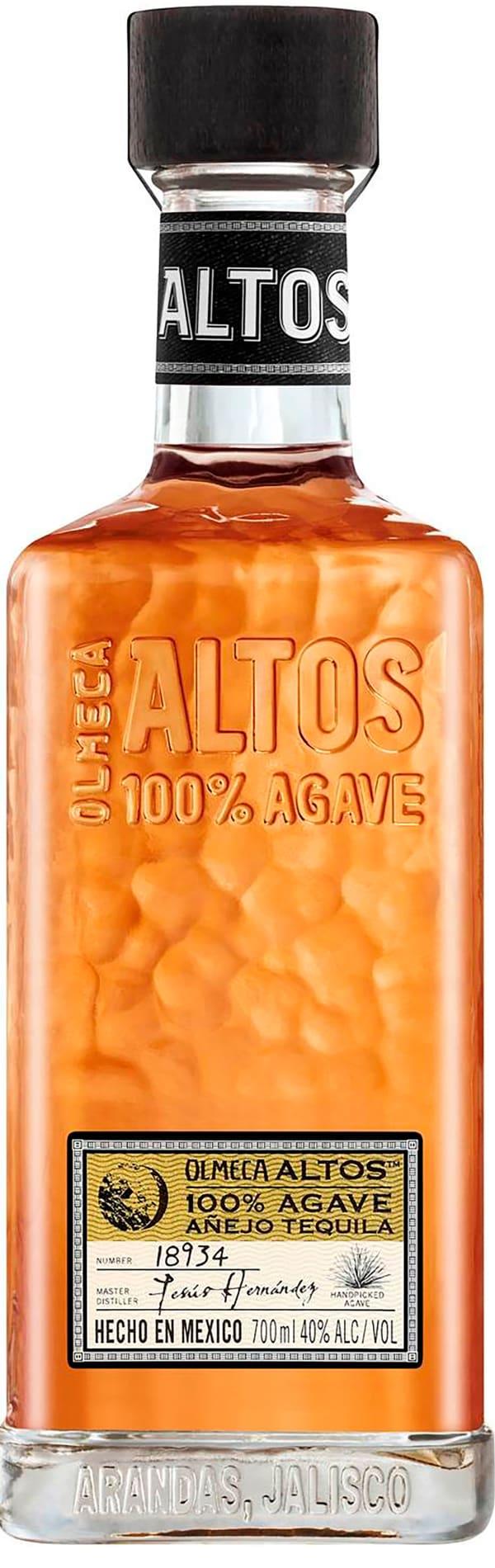 Olmeca Altos Añejo Tequila