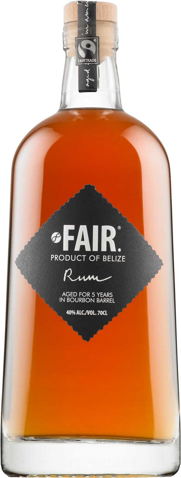 Fair. Belize Rum
