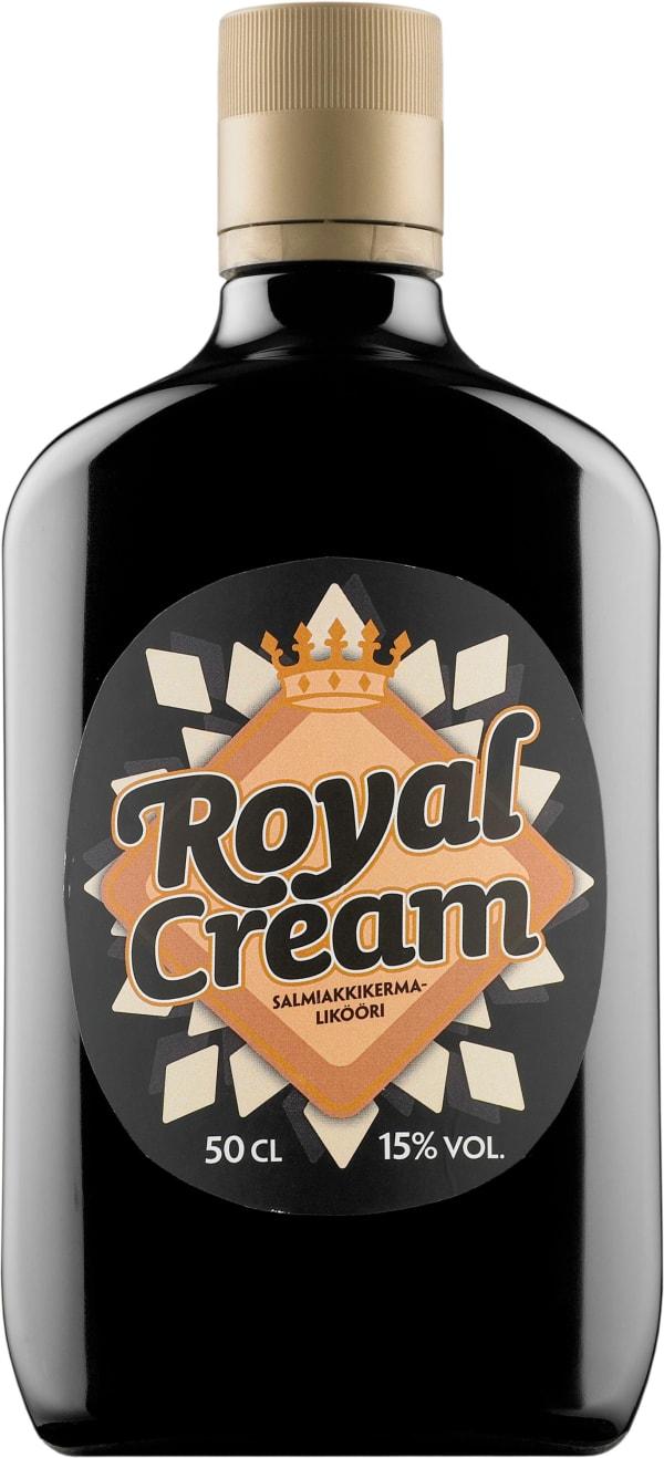Royal Cream Salmiakkikermalikööri plastflaska
