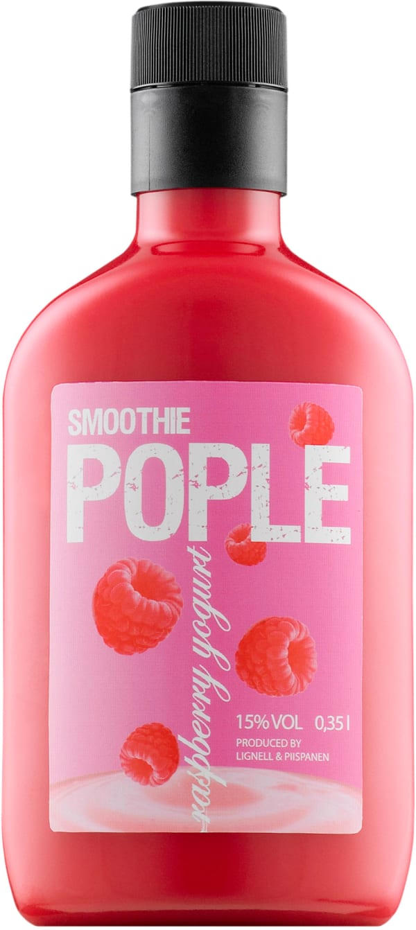 Pople Smoothie Raspberry-Yogurt plastflaska
