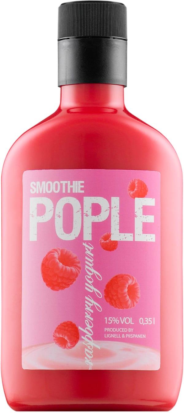 Pople Smoothie Raspberry-Yogurt plastic bottle