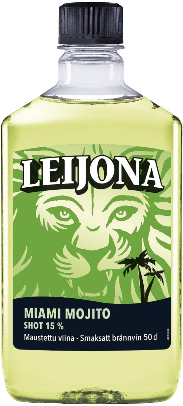 Leijona Miami Mojito Lime plastic bottle