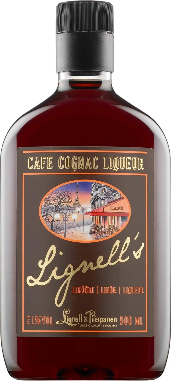 Lignell's Cafe Cognac Liqueur plastflaska