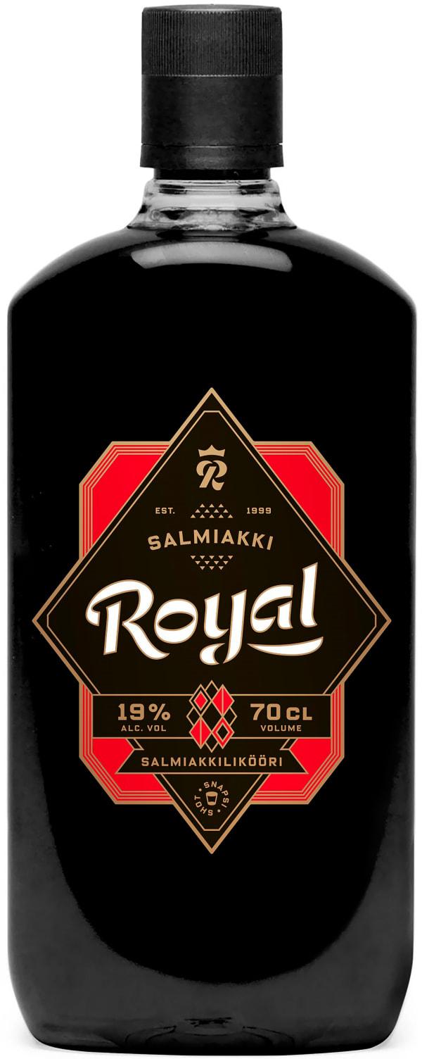 Royal Salmiakki Snapsi muovipullo