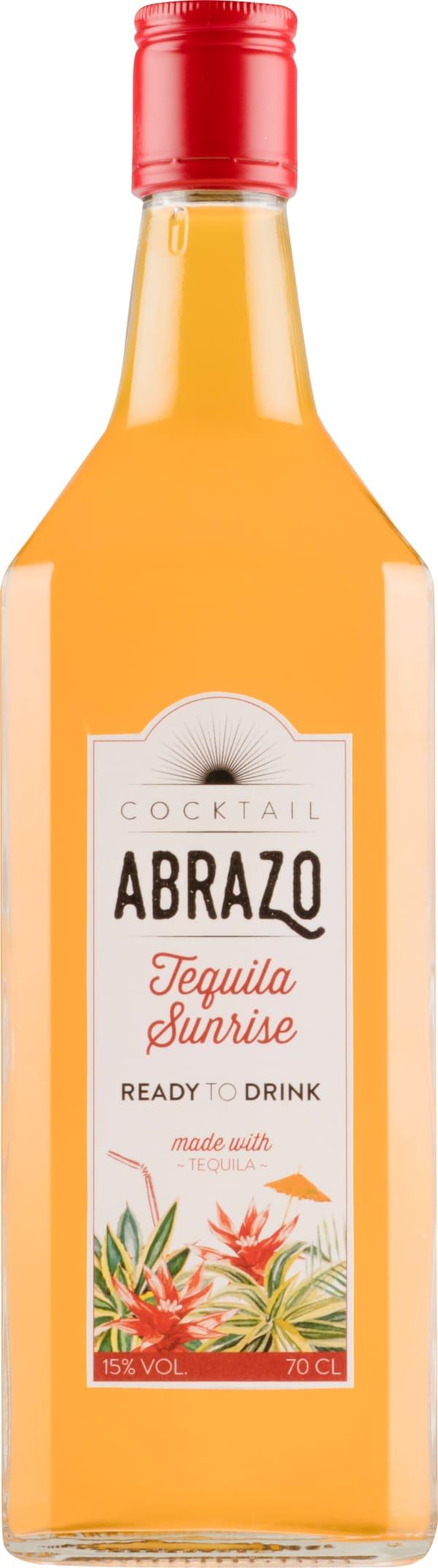 Abrazo Tequila Sunrise Cocktail