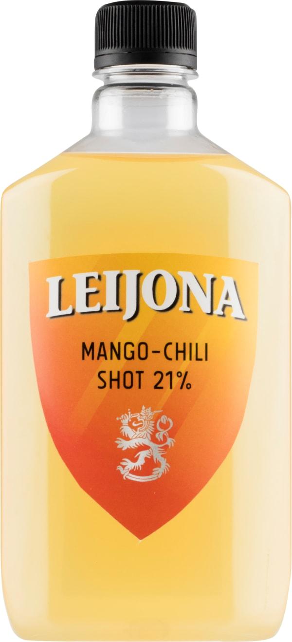 Leijona Mango-Chili Shot muovipullo