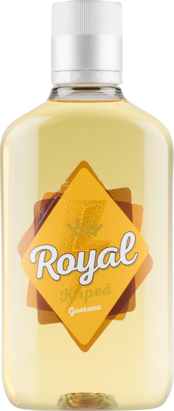 Royal Kirpeä Guarana muovipullo