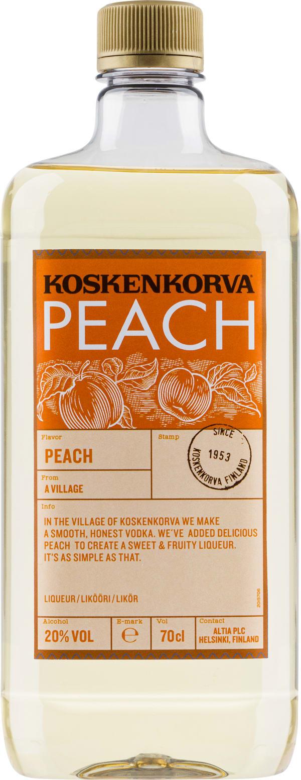 Koskenkorva Peach plastflaska