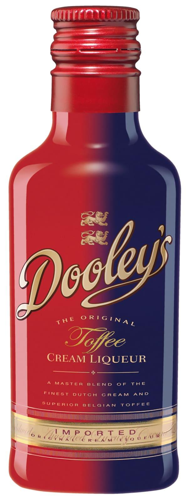 Dooley's Original Toffee plastic bottle