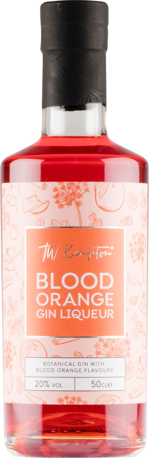 TW Kempton Blood Orange Gin Liqueur