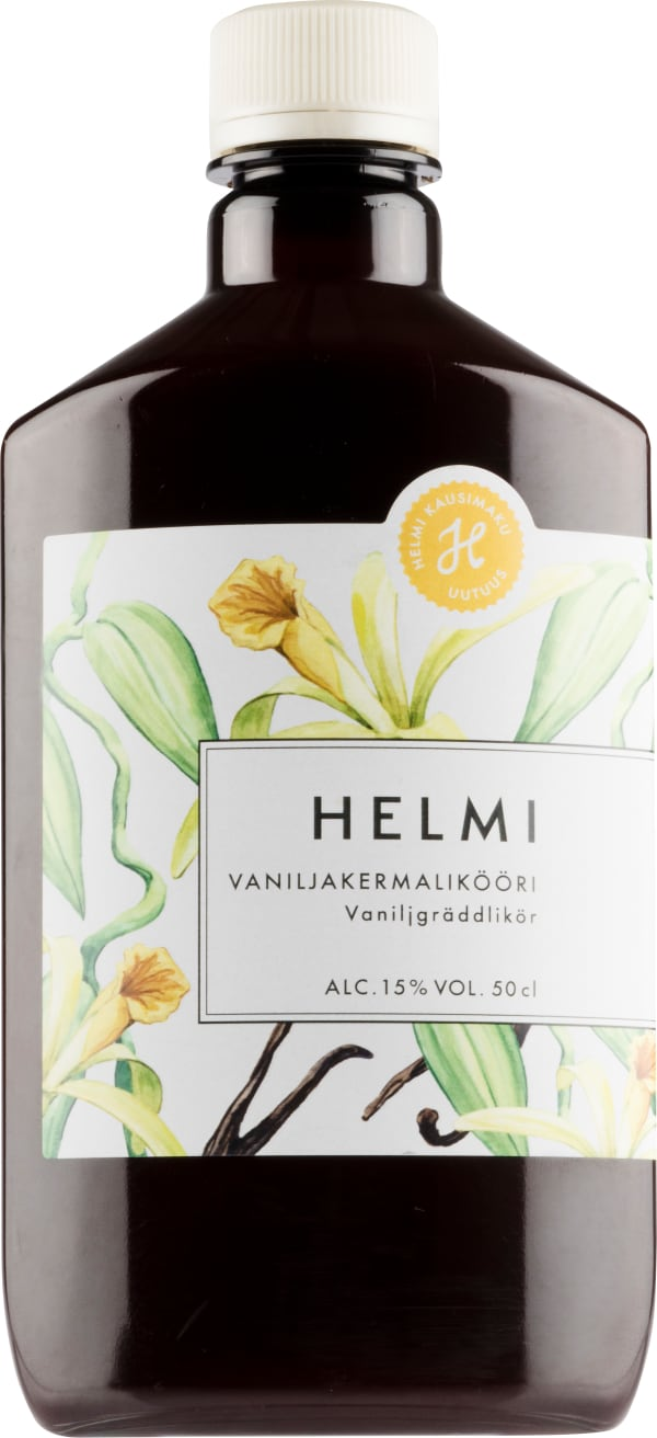 Helmi Vaniljakermalikööri plastic bottle