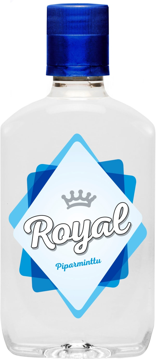 Royal Piparminttu Snapsi plastic bottle