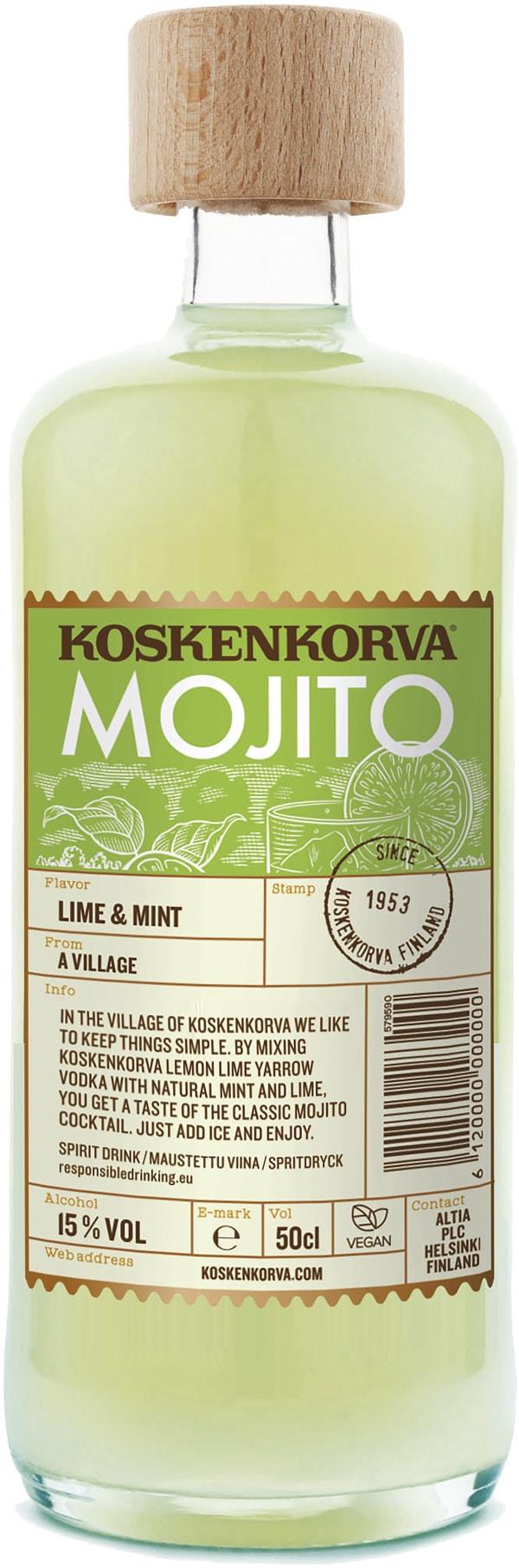 Koskenkorva Mojito