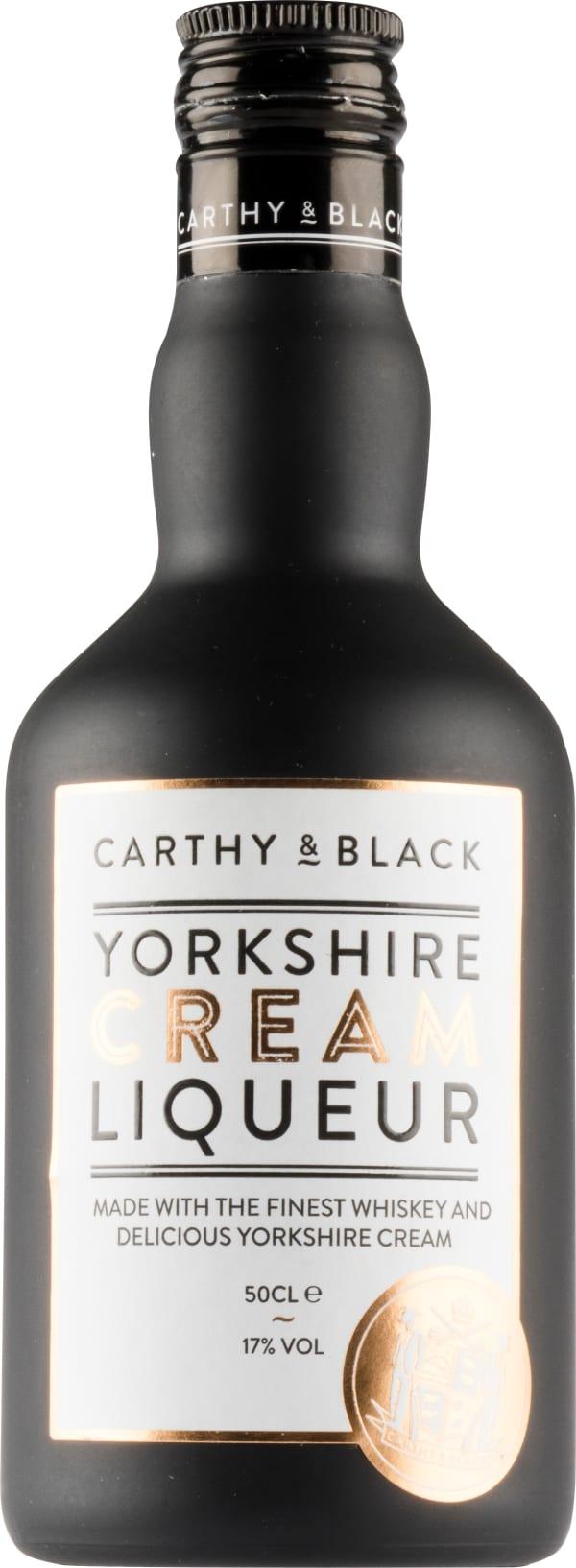 Carthy and Black Yorkshire Cream Liqueur