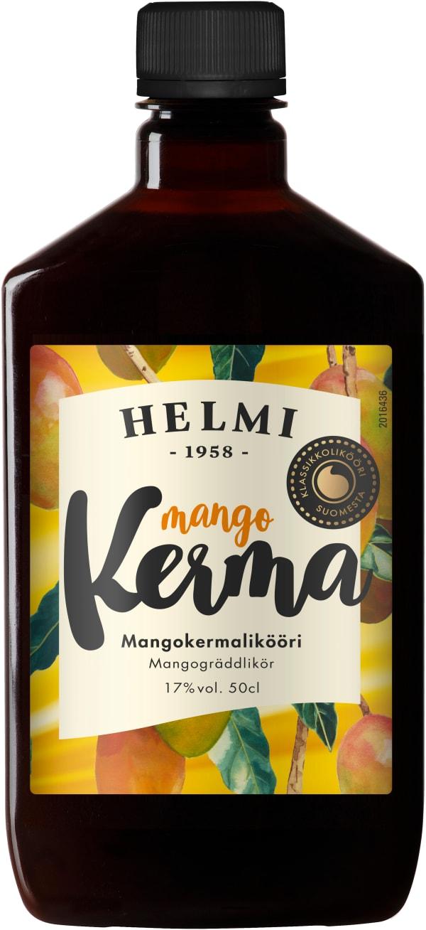 Helmi Mangokermalikööri plastic bottle