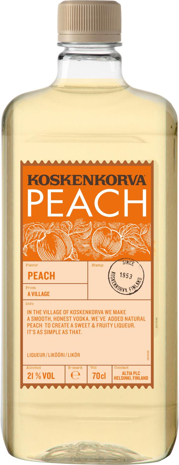 Koskenkorva The Original Peach muovipullo