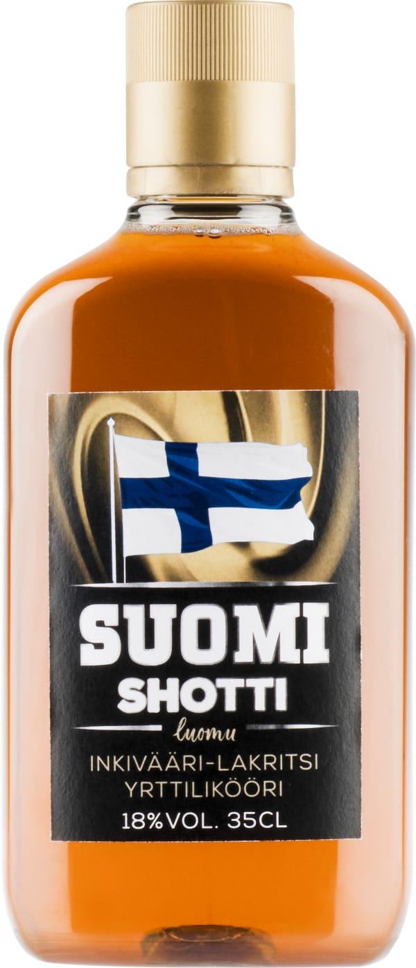 Suomi Shotti Inkivääri-Lakritsi plastic bottle