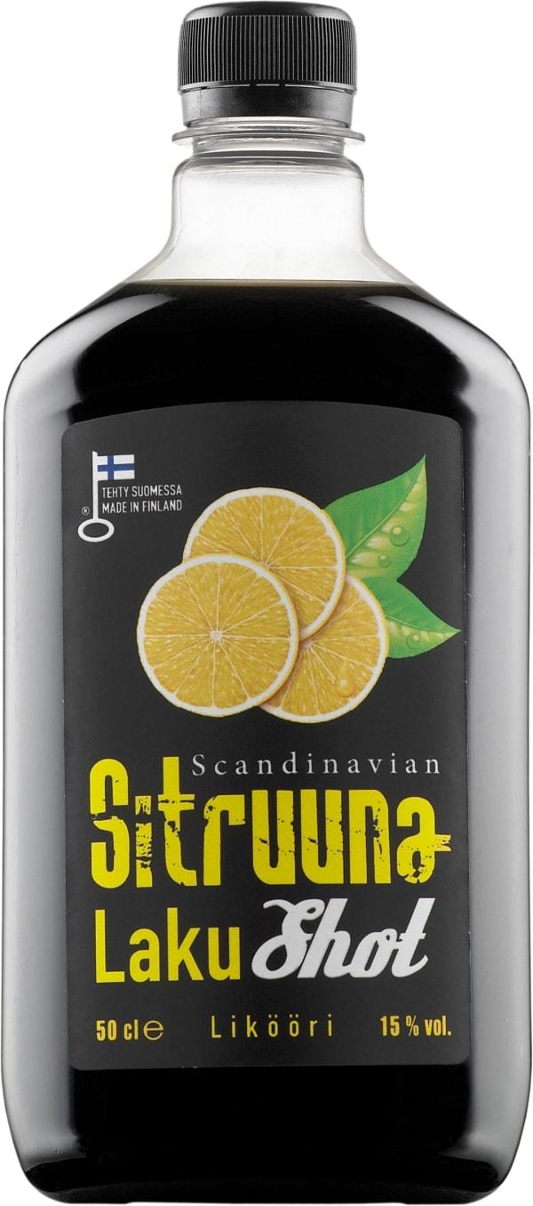Scandinavian Sitruuna LakuShot plastflaska