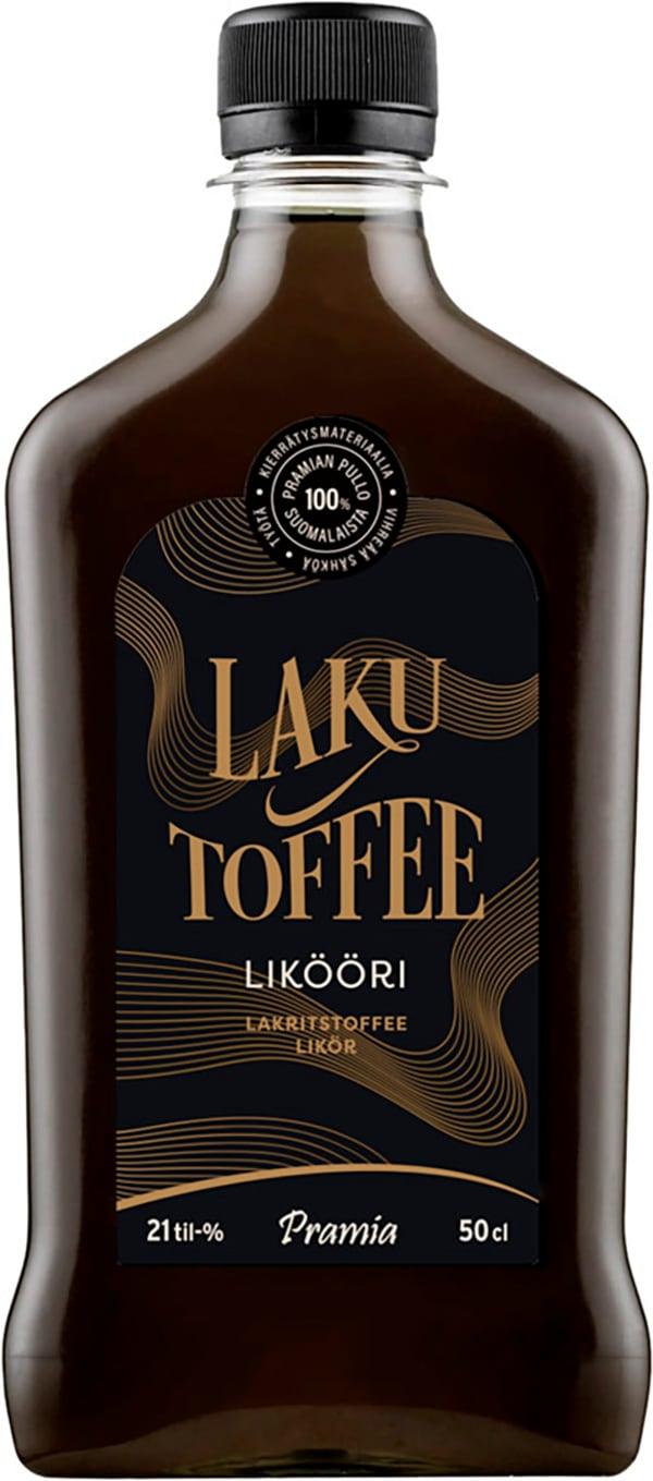 Silver Toffee muovipullo