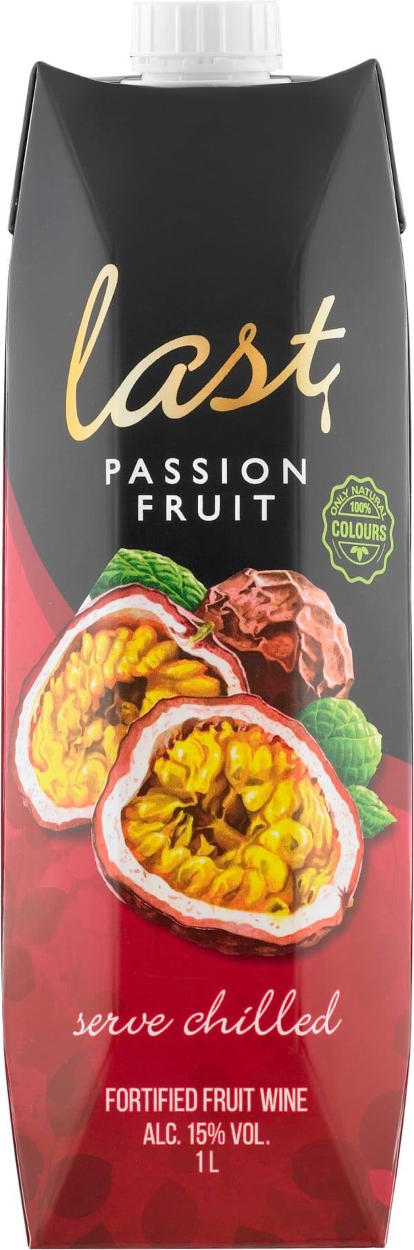 Last Passionfruit carton package