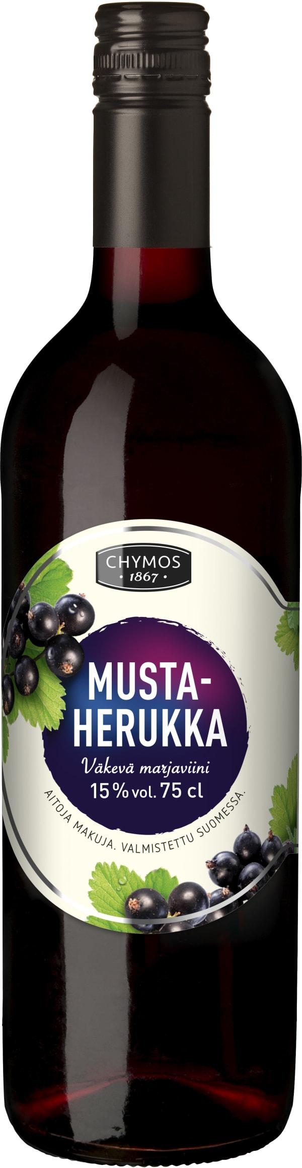 Chymos Mustaherukka Väkevä Marjaviini