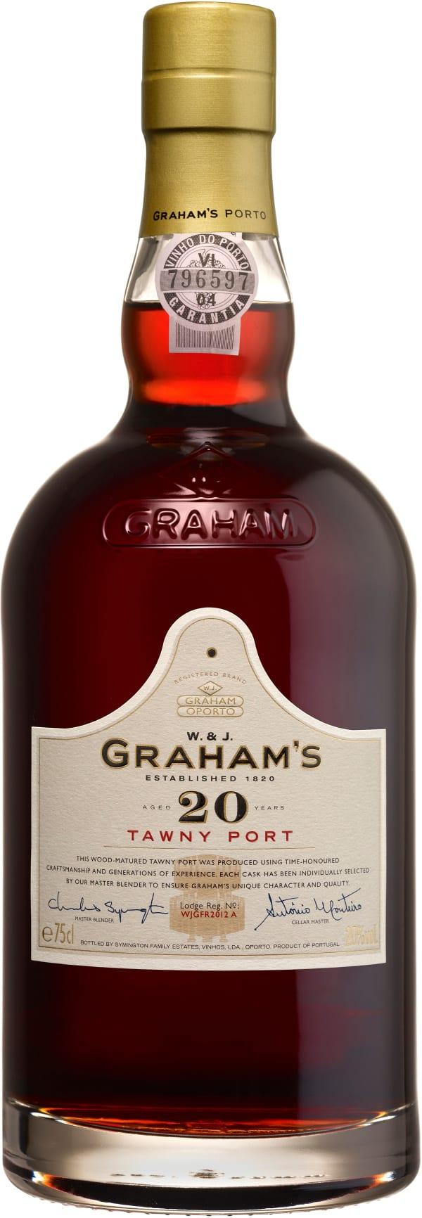Graham's Aged 20 Years Tawny Port