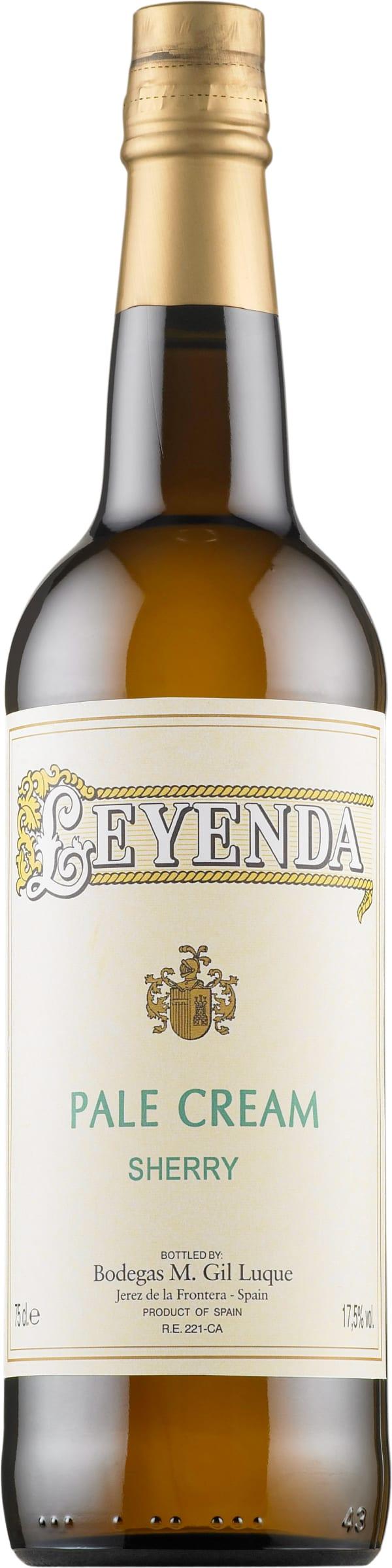 Leyenda Pale Cream Sherry