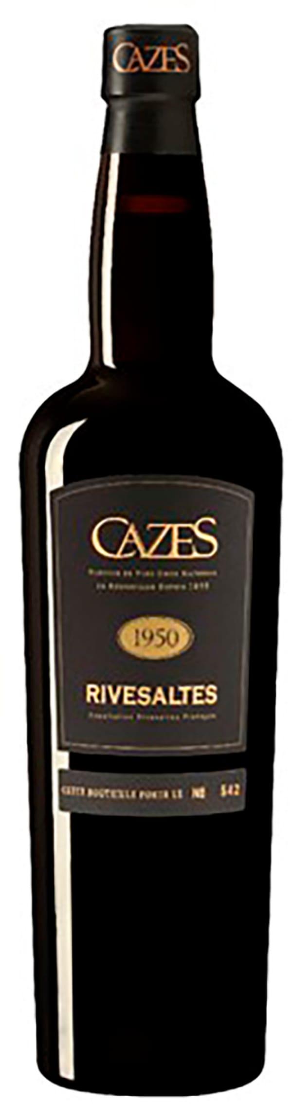 Cazes Rivesaltes 1950