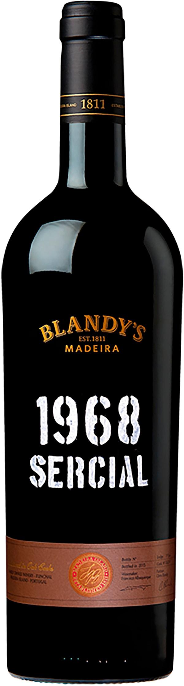 Blandy's Sercial 1968 Vintage Madeira 1968