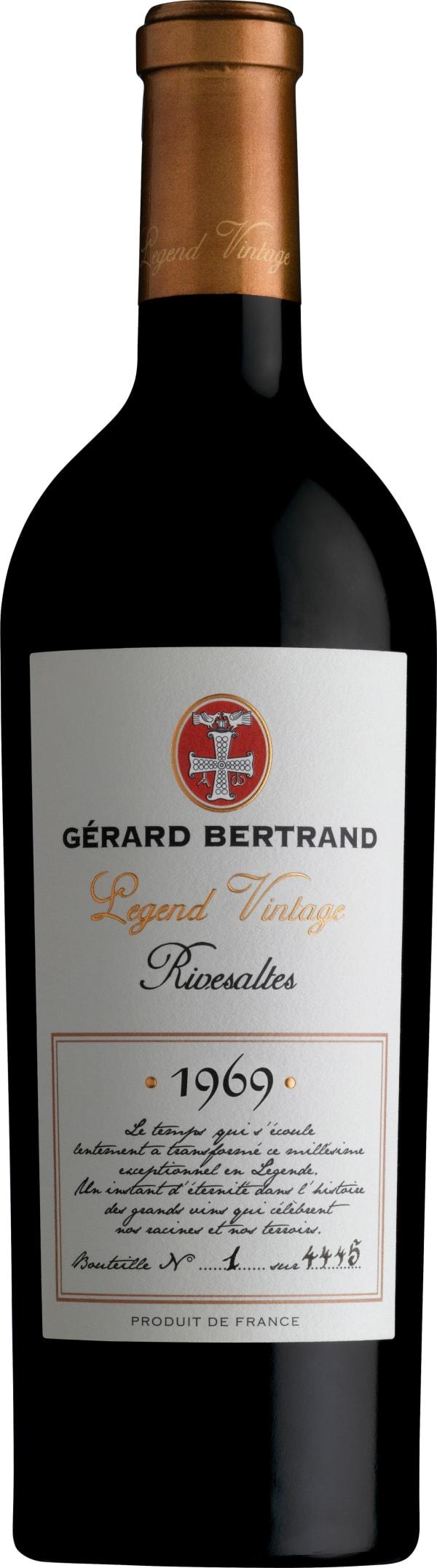 Gérard Bertrand Legend Vintage Rivesaltes 1969