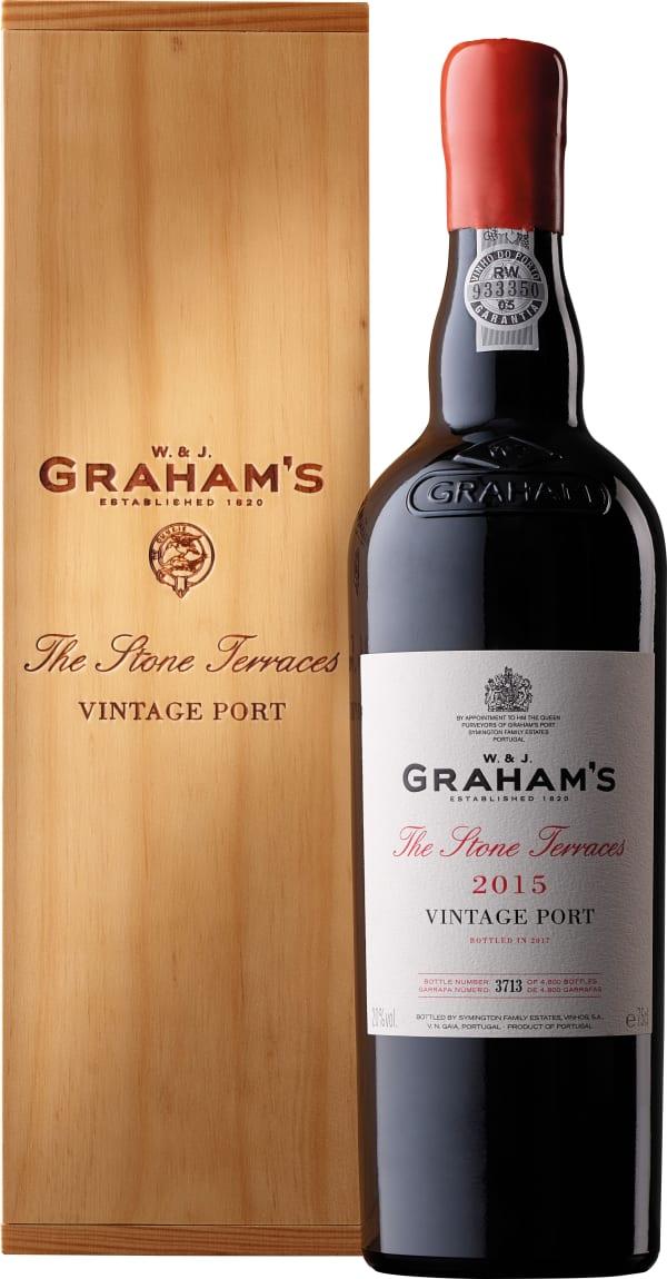 Graham's The Stone Terraces Vintage Port 2015