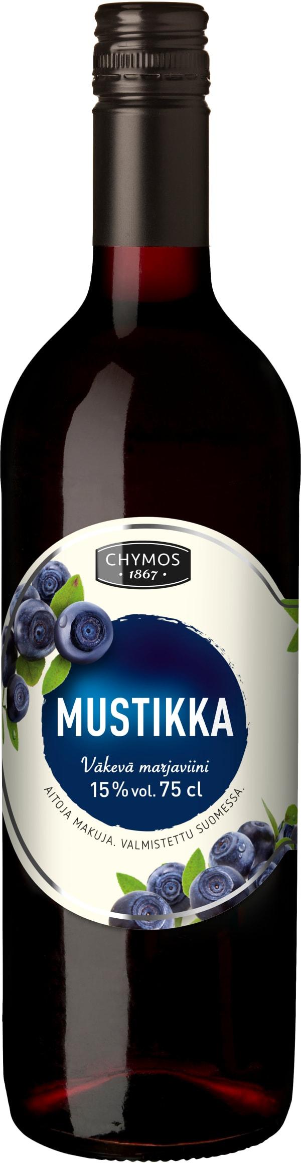 Chymos Mustikka Väkevä Marjaviini