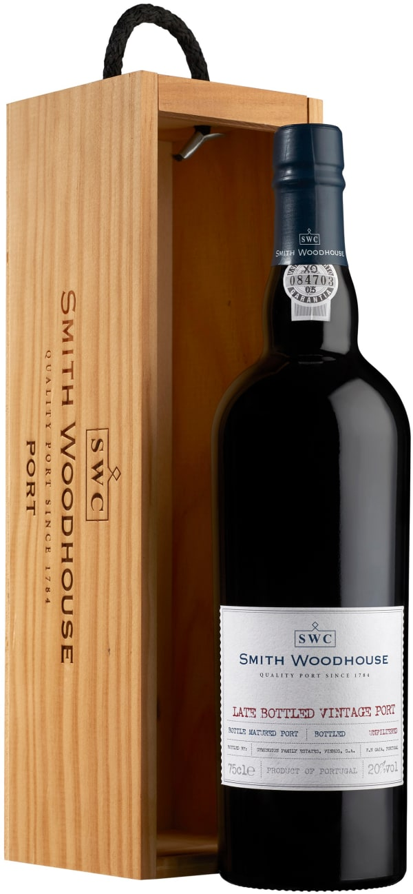 Smith Woodhouse Late Bottled Vintage Port 2007 gift packaging