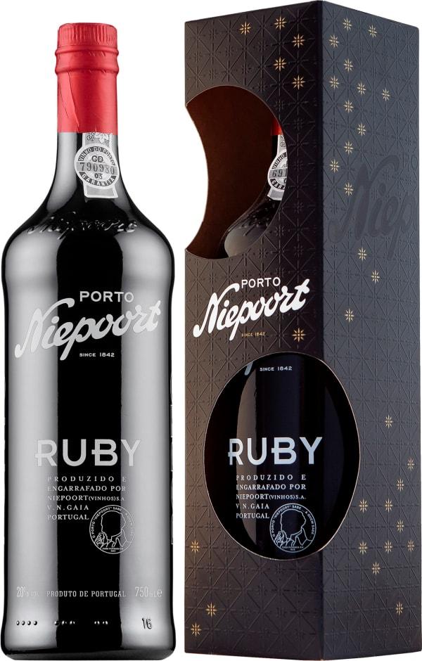 Niepoort Ruby Port gift packaging
