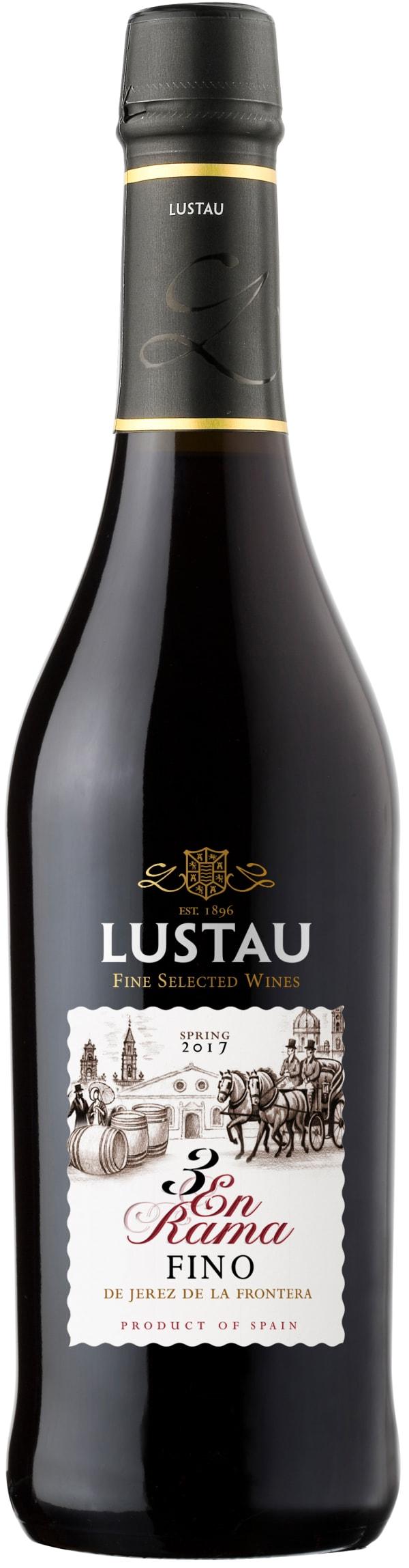 """Lustau Fino de Jerez de la Frontera """"3 En Rama"""" Sherry"""