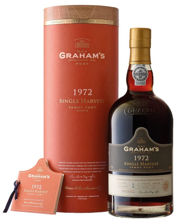 Graham's Single Harvest Tawny Port 1972