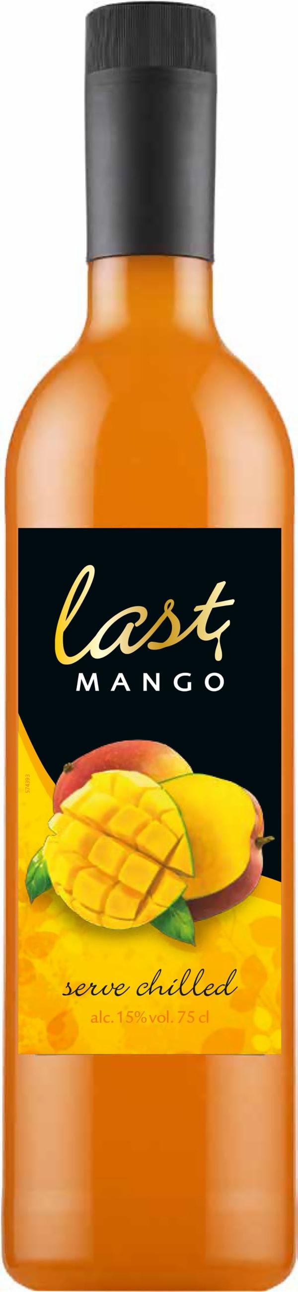 Last Mango muovipullo