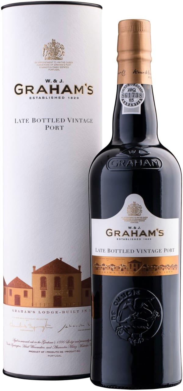 Graham's Late Bottled Vintage Port 2014 presentförpackning