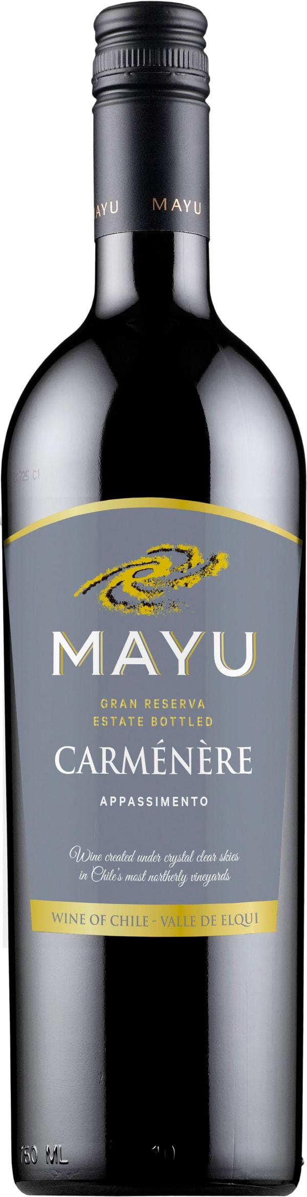 Mayu Gran Reserva Carmenere 2016 presentförpackning