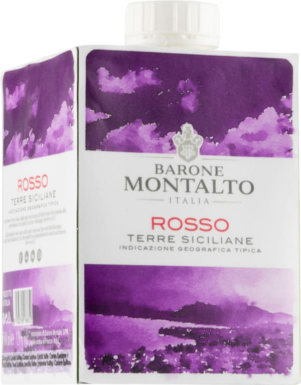 Barone Montalto Rosso kartongförpackning