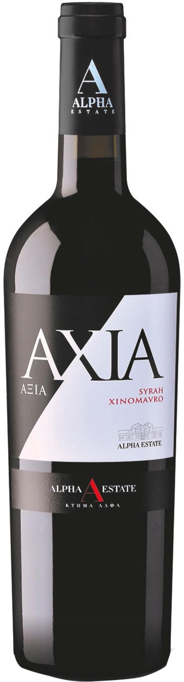 Alpha Estate Axia Syrah Xinomavro 2015