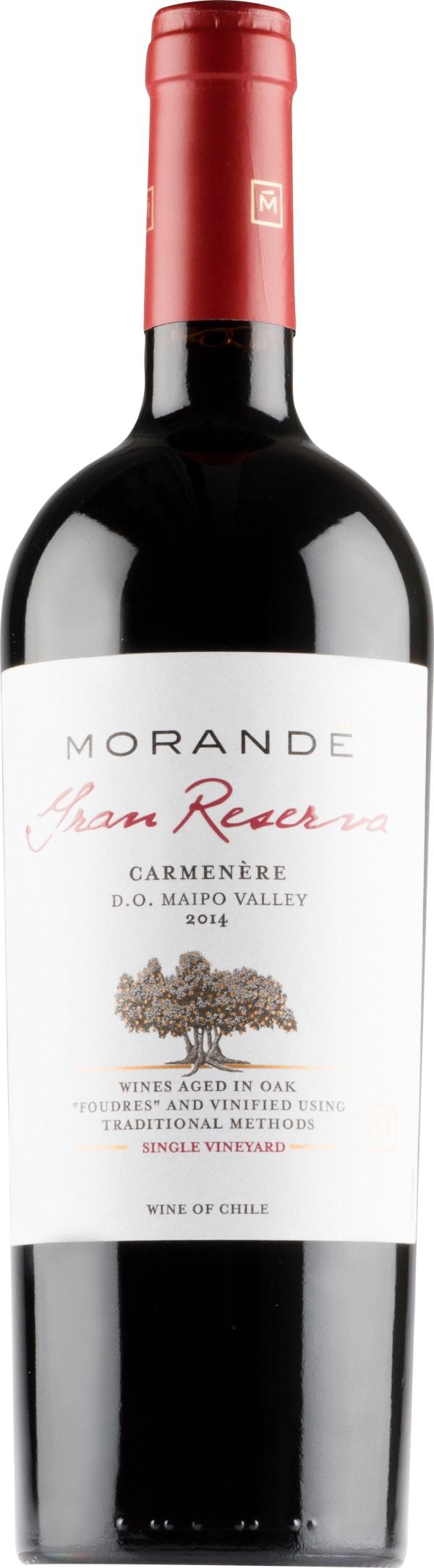 Morande Gran Reserva Carmenère 2014