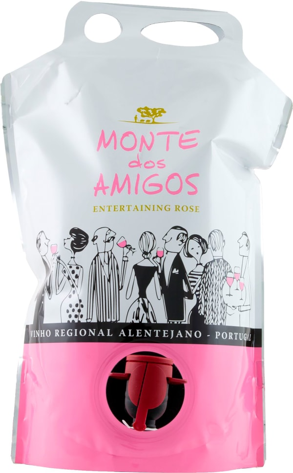 Monte dos Amigos Rosé 2020 påsvin
