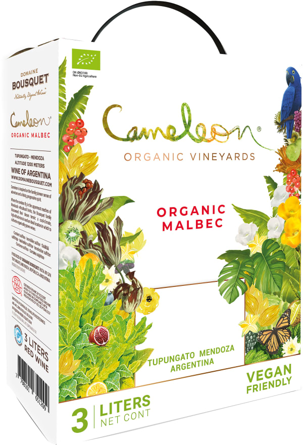 Cameleon Organic Malbec 2018 lådvin