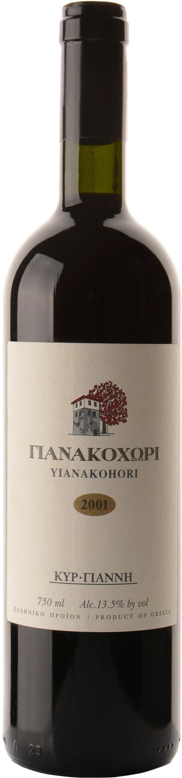 Kir-Yianni Yianakohori 2001