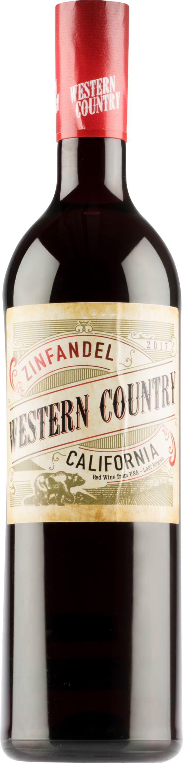 Western Country Zinfandel 2017 plastic bottle