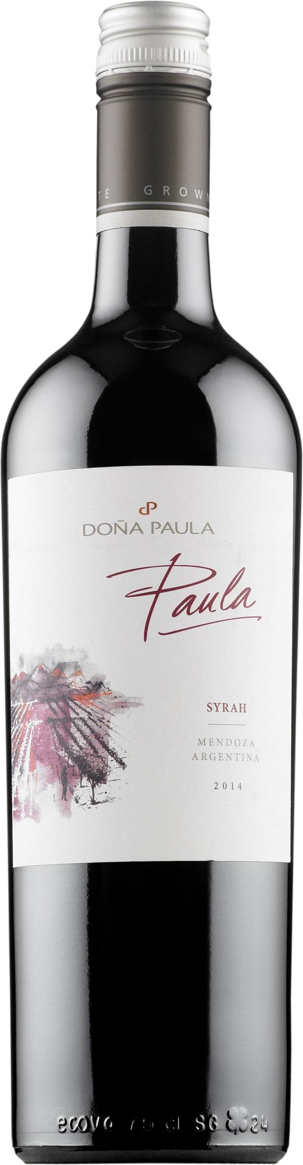 Doña Paula Syrah 2016
